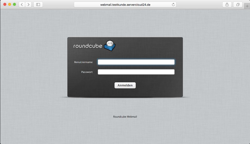 Wie funktioniert Roundcube Webmail ?