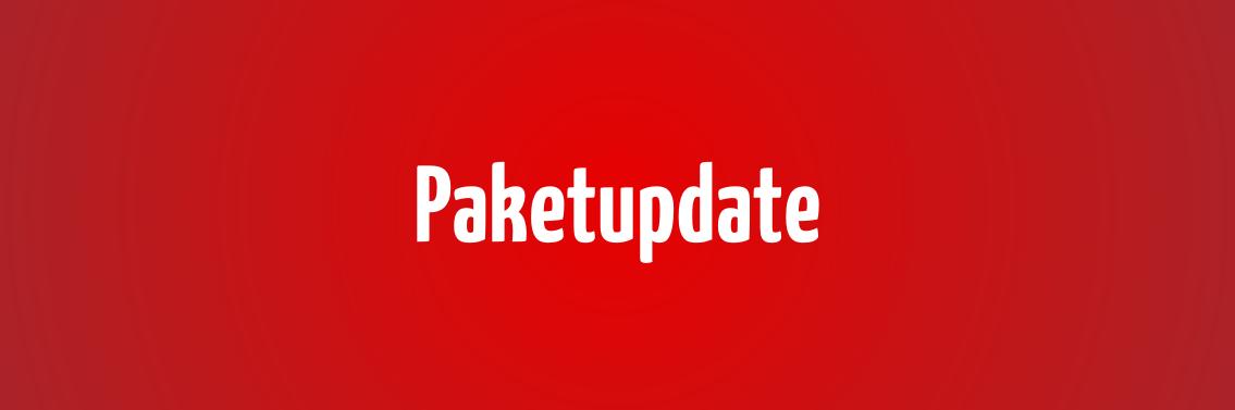 Paketupdate: Mehr Speicherplatz für Ihren Online-Shop!